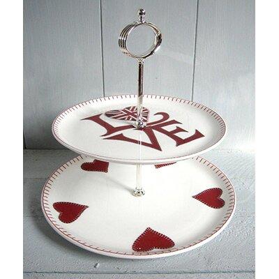 ECP Design Ltd Jan Constantine 17cm H Bone China Cake Stand