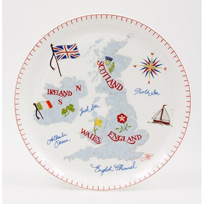 ECP Design Ltd Jan Constantine 22cm Bone China Plate