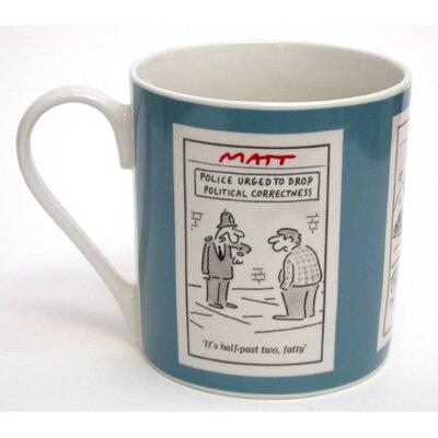 ECP Design Ltd Matt 8.5cm Bone China Police Mug