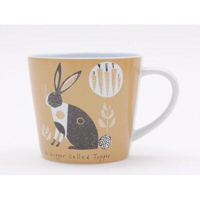 ECP Design Ltd Scandinavian Rabbit Mug by Jane Ormes