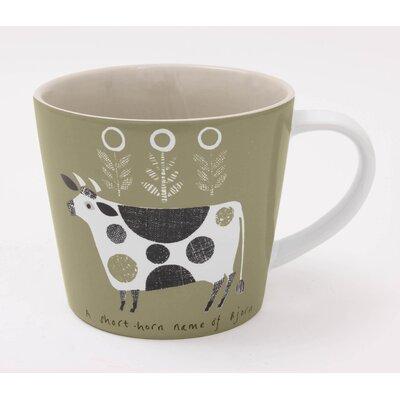ECP Design Ltd Scandinavian Cow Mug by Jane Ormes