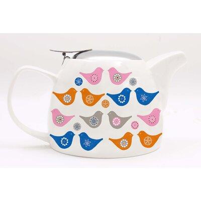 ECP Design Ltd Love Birds 0.75L Porcelain Teapot