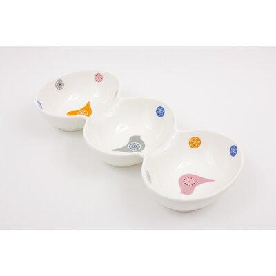 ECP Design Ltd Love Birds Triple Dipping Dish