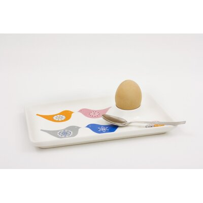 ECP Design Ltd Love Birds Egg Plate
