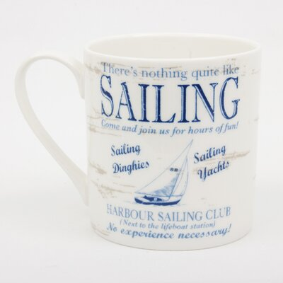 ECP Design Ltd By the Sea Sailing Mug