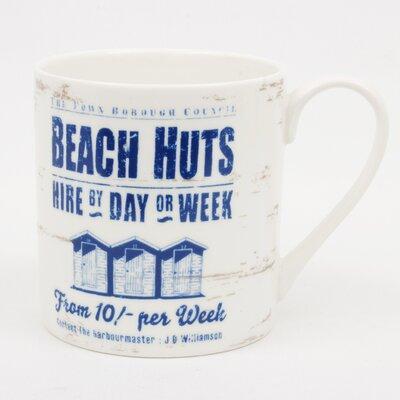 ECP Design Ltd By the Sea Beach Huts Mug