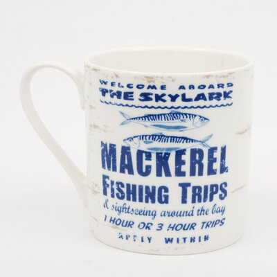 ECP Design Ltd By the Sea Mackerel Mug