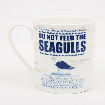 ECP Design Ltd By the Sea Seagull Mug