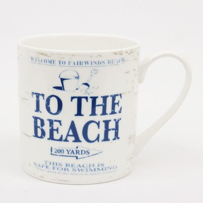 ECP Design Ltd By the Sea to the Beach Mug