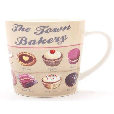 ECP Design Ltd Town Bakery Porcelain Mug