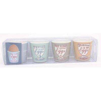 ECP Design Ltd Specialist 4 Piece Egg Cup Set