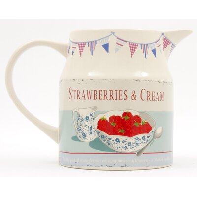 ECP Design Ltd Strawberries and Cream 0.65L Pitcher
