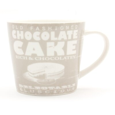 ECP Design Ltd Sunny Days Chocolate Cake Mug