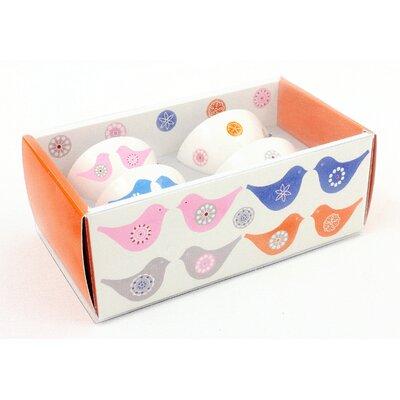 ECP Design Ltd Love Birds 4 Piece Chip Bowl Set