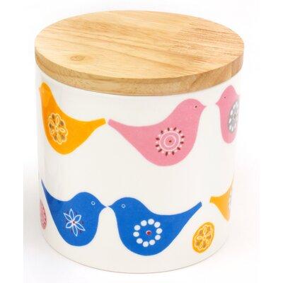 ECP Design Ltd Love Birds 500ml Storage Jar