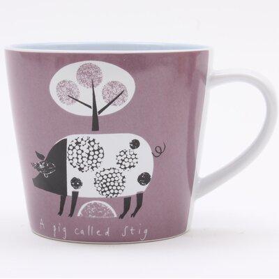 ECP Design Ltd Scandinavian Pig Mug by Jane Ormes