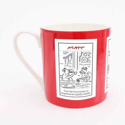 ECP Design Ltd Matt Squiffy Middle Mug
