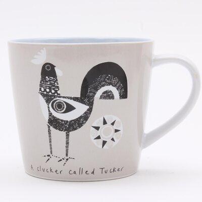 ECP Design Ltd Scandinavian Chicken Mug by Jane Ormes