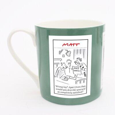 ECP Design Ltd Matt Health Service Mug