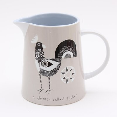 ECP Design Ltd Scandinavian Chicken 0.75L Pitcher