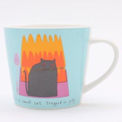 ECP Design Ltd Cat in Jelly Mug by Jane Ormes