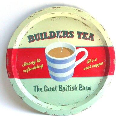 ECP Design Ltd Coffee Break Builder's Tea Tin Tray