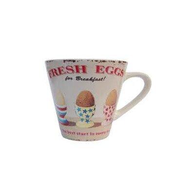ECP Design Ltd Coffee Break Fresh Eggs Small Mug