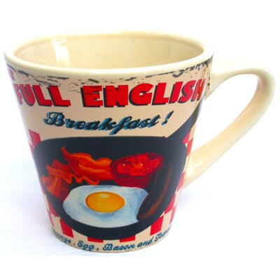 ECP Design Ltd Coffee Break Full English Large Mug