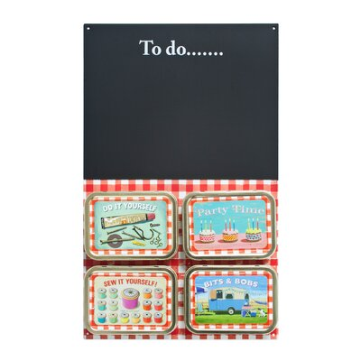 ECP Design Ltd Coffee Break Bits and Bobs Magnetic Memo Board