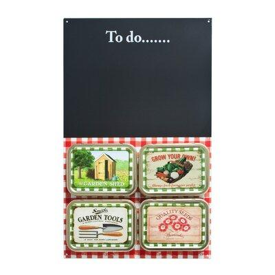 ECP Design Ltd Coffee Break Garden Shed Magnetic Memo Board