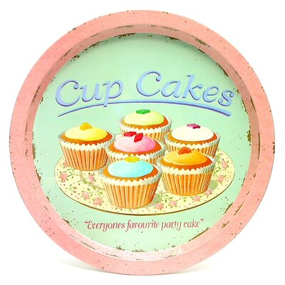 ECP Design Ltd Coffee Break Cupcake Tin Tray