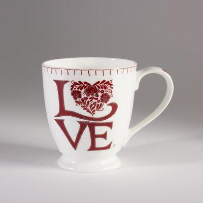 ECP Design Ltd Romany 13.5cm Bone China Love Mug