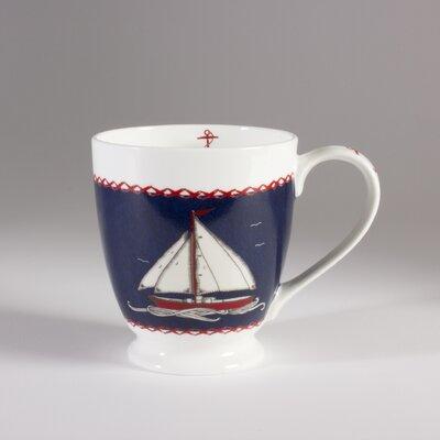 ECP Design Ltd Seaside 13.5cm Bone China Boat J.Constatine Mug