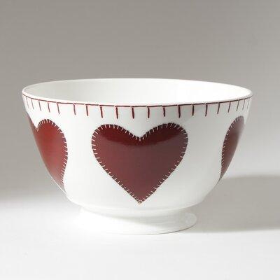 ECP Design Ltd Hearts 14cm Bone China Heart Bowl