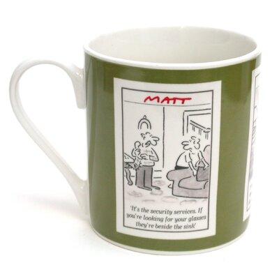 ECP Design Ltd Matt 8.5cm Bone China Couple Mug