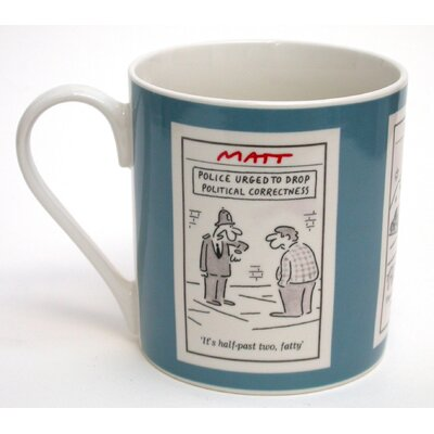 ECP Design Ltd Matt 325ml Bone China Mug