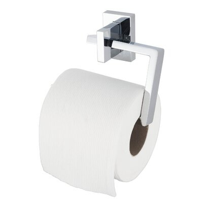 Haceka Edge Wall Mounted Toilet Roll Holder in Chrome