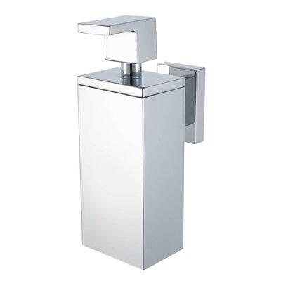 Haceka Edge Soap Dispenser in Chrome