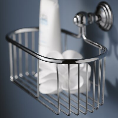 Haceka Allure Wire Metal Suctioned Shower Caddy
