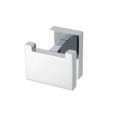 Haceka Edge Wall Mounted Towel Hook in Chrome