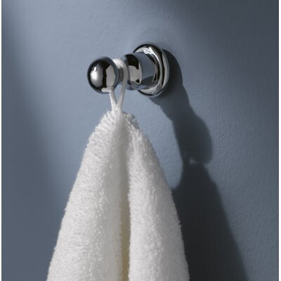 Haceka Allure Wall Mounted Towel Hook in Chrome
