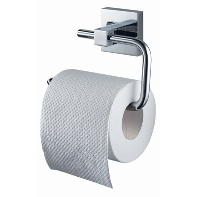 Haceka Mezzo Wall Mounted Toilet Roll Holder in Chrome
