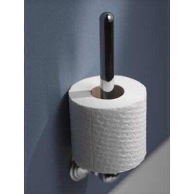 Haceka Allure Wall Mounted Toilet Roll Holder in Chrome