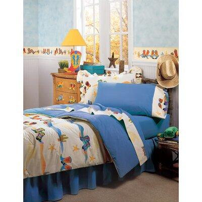 Cowboy 3 Piece Toddler Bedding Set