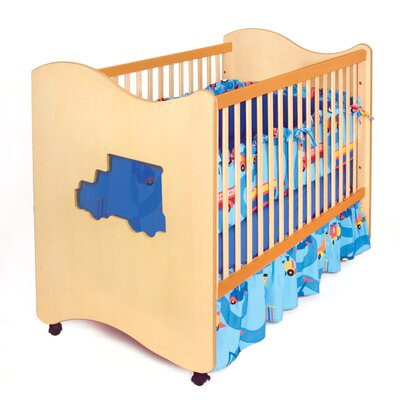 Room Magic Boys Like Trucks Convertible Crib