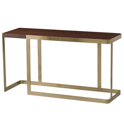Caroline Console Table Color: Antique Champagne
