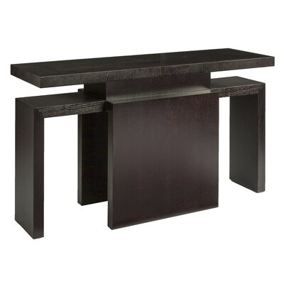Sebring Console Table Color: Mocha on Oak