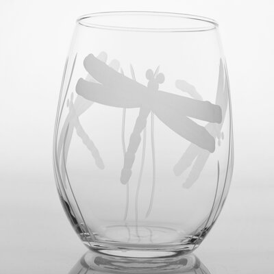 Rolf Glass Dragonfly Stemless Red Wine Stemless Glass