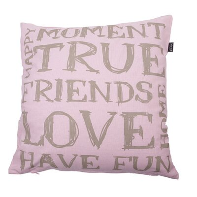 In The Mood Collection© Tekst Cushion Cover