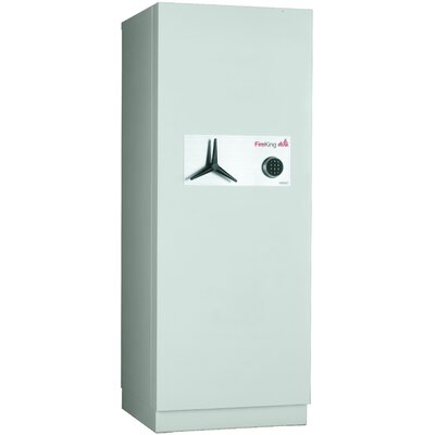 Fireproof 2-Hour Protection Data Security Safe with Electronic Lock Size: 10.8 CuFt